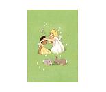 Blomsterkrans, postkort