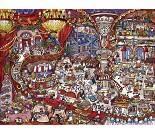 Puslespill med restaurant, 1500 brikker