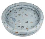 Blått badebasseng med havdyr, 230 liter - Liewood