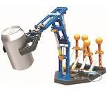 Bygg en hydraulisk arm, teknisk byggesett