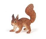 Ekorn, miniatyrfigur fra PAPO