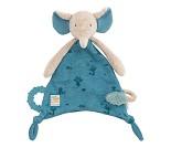 Koseklut med blå elefant fra Moulin Roty