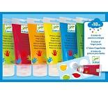 Fingermaling i 6 farger - Djeco