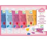Fingermaling i 6 pastellfarger - Djeco
