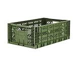 Foldbar oppbevaringskasse Khaki 60x40 - Aykasa