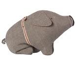 Grå gris, 23 cm - Maileg