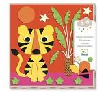Hobbysett, dekorere bilder med filt - Djeco