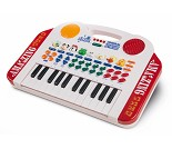 Keyboard med instrument, rytmer og dyrelyder