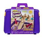 Kinetisk sand, 1 kg sand med koffert og former