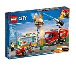 LEGO City Brannslokking på burgerbar 60214