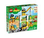 LEGO DUPLO Byggearbeid med tårnkran 10933