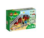 LEGO DUPLO Jernbanebro og togskinner 10872