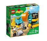 LEGO DUPLO Lastebil og beltegravemaskin 10931