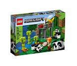 LEGO Minecraft Pandahjem med park 21158