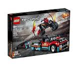 LEGO Technic Stuntmotorsykkel og pickup 42106
