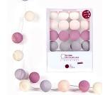 Rosatoner, lyslenke med 16 baller