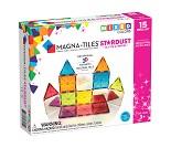 Magna-tiles, glitter, 15 stk