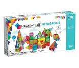 Magna-tiles, transparent, 110 stk