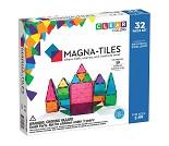 Magna-tiles, transparent, 32 stk