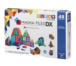 Magna-tiles, transparent, 48 stk