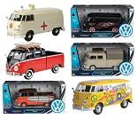 Modellbil, VW Transporter, 6 valg