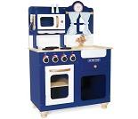 Mørkeblått lekekjøkken i tre - Le Toy Van