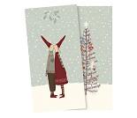 Nissekyss, servietter med julemotiv - Maileg