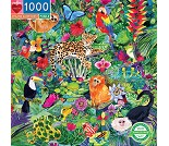 Puslespill med Amazonasregnskogen, 1000 brikker