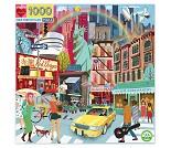 Puslespill med New York, 1000 brikker