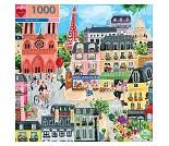 Puslespill med Paris, 1000 brikker