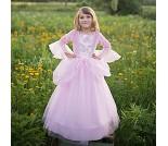 Rosa prinsessekjole, 5-7 år, kostyme