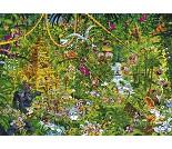 Puslespill med jungel, 2000 brikker