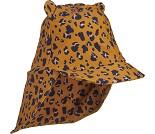Solhatt med leopardprint fra Liewood, str 6-12 mnd