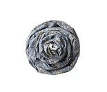 Blått bæresjal med blomster fra Coracor