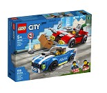 LEGO City Utrykningspolitiet 60242