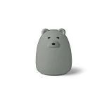 Winston nattlampe, blå bjørn - Liewood