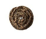 Brunt bæresjal med tigermønster fra Coracor