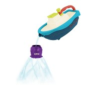 Badeleke - båt og blekksprut