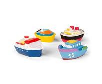 Badeleker, båter