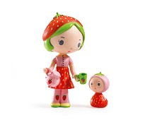 Berry og Lila, Tinyly samlefigur - Djeco