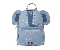 Blå ryggsekk med elefant - Trixie