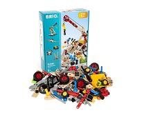 Builder, byggesett, 210 deler - BRIO