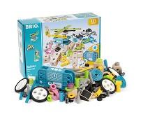 Builder, byggesett med motor, 121 deler - BRIO