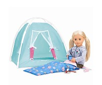 Campingsett, dukketilbehør - Our Generation