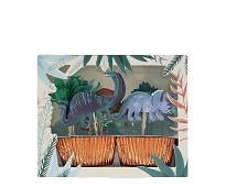 Cupcake kit, dinosaurer, 24 stk - Meri Meri
