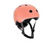 Fersken sykkelhjelm (51-55 cm) - Scoot & Ride