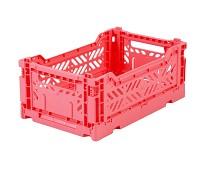 Foldbar oppbevaringskasse Dark pink 27x17 - Aykasa