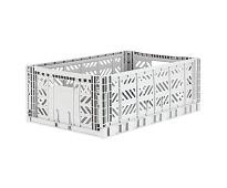 Foldbar oppbevaringskasse Grey 60x40 - Aykasa