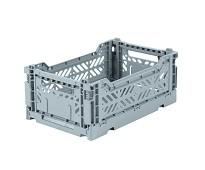 Foldbar oppbevaringskasse Pale blue 27x17 - Aykasa