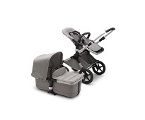Fox2 Mineral komplett barnevogn, alu light grey